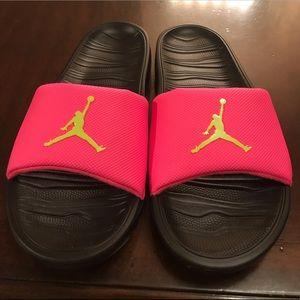 New Nike Jordan Break Pink Slides Size US 11